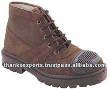HSM153 Full Rip-stop Canvas Koria Made Military Camping Hunting Boots