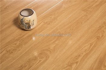 11mm ,12 high glossy surface indoor decorative laminate flooring