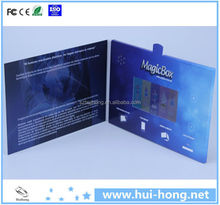 electronic video album/lcd video greeting card