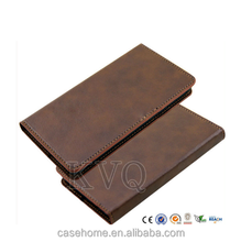 For galaxy note 4 case, genuine leather cover case for samsung galaxy note 4