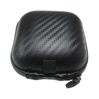 Black Hearing Aid Carrying Case Box Holder