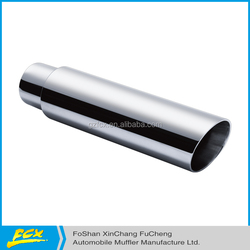 polished tail tips professional vehicle muffler