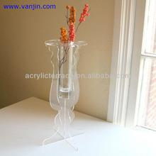 LED Lighted Acrylic Wedding Party Centerpieces Floral Stand