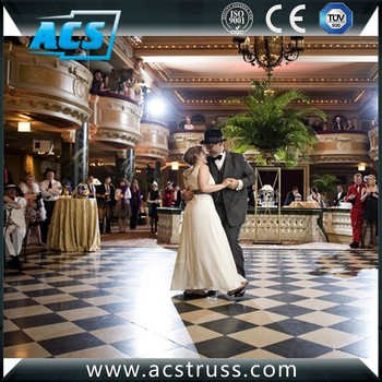 Wholesale Easy Lay Portable Wooden Dance Floor for events from Shenzhen
