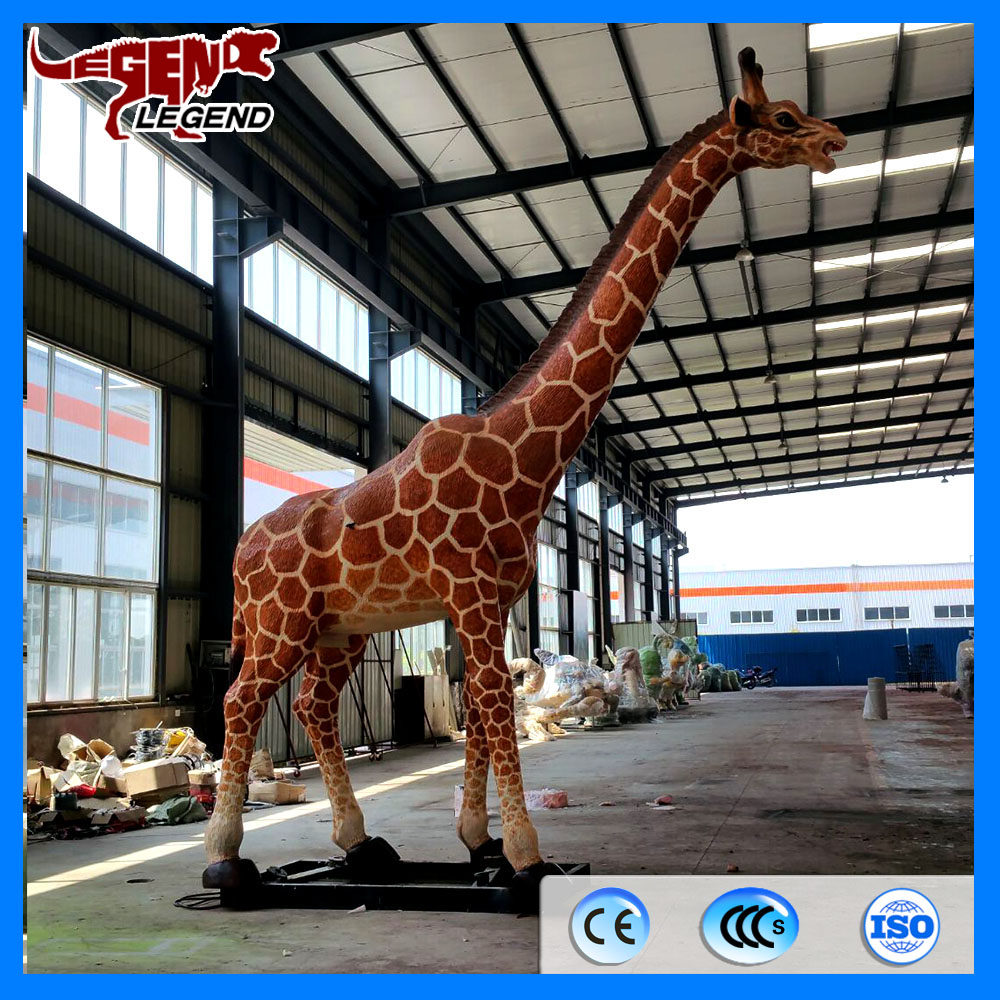 Theme park decoration life size animatronic animal for sale
