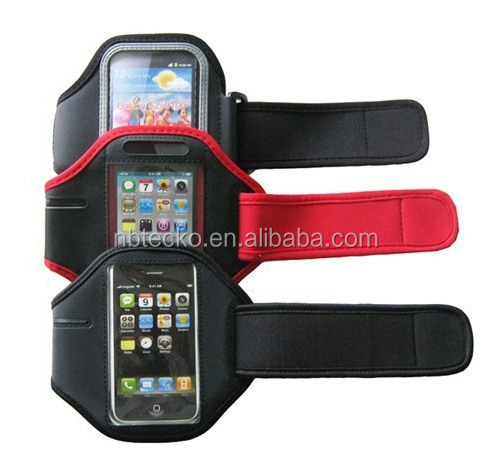 Portable sports running armband case gym armband mobile phone bag