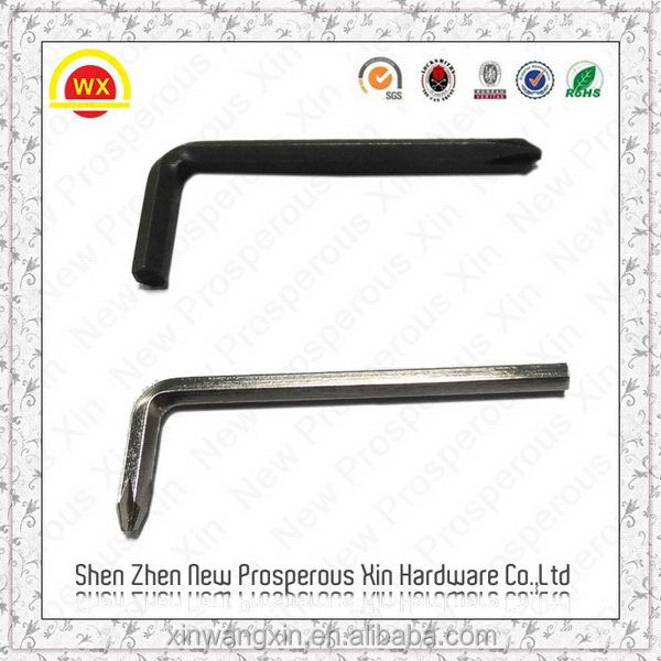 Carbon steel wrench c Hex Key wrench Flat end Hex key Allen key
