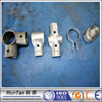 China manufacturer high quality wholesale metal fence post clamp chain link panel clamp