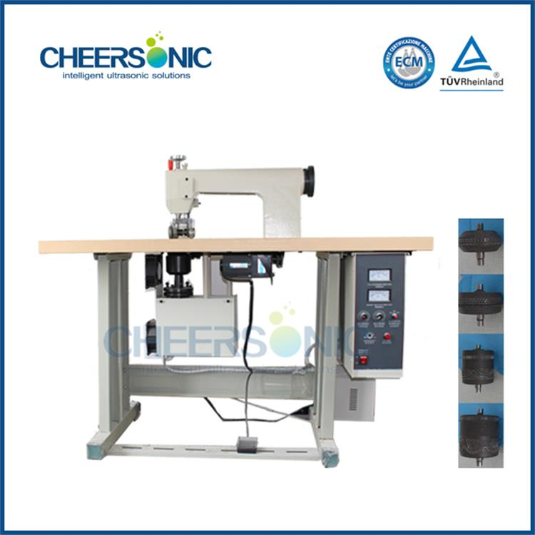 ultrasonic no needle quilting machine ultrasonic textiles and technical textiles sewing machine