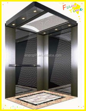 residential building design elevator with gearless elevator motor