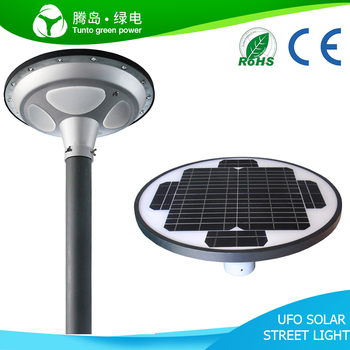 UFO 15W New Design All in one Solar Street Light with 18V/25W Solar Panel