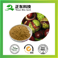 Manufacturer best price HPLC brown to reddish-brown 20% aescin Horse Chestnut Extract