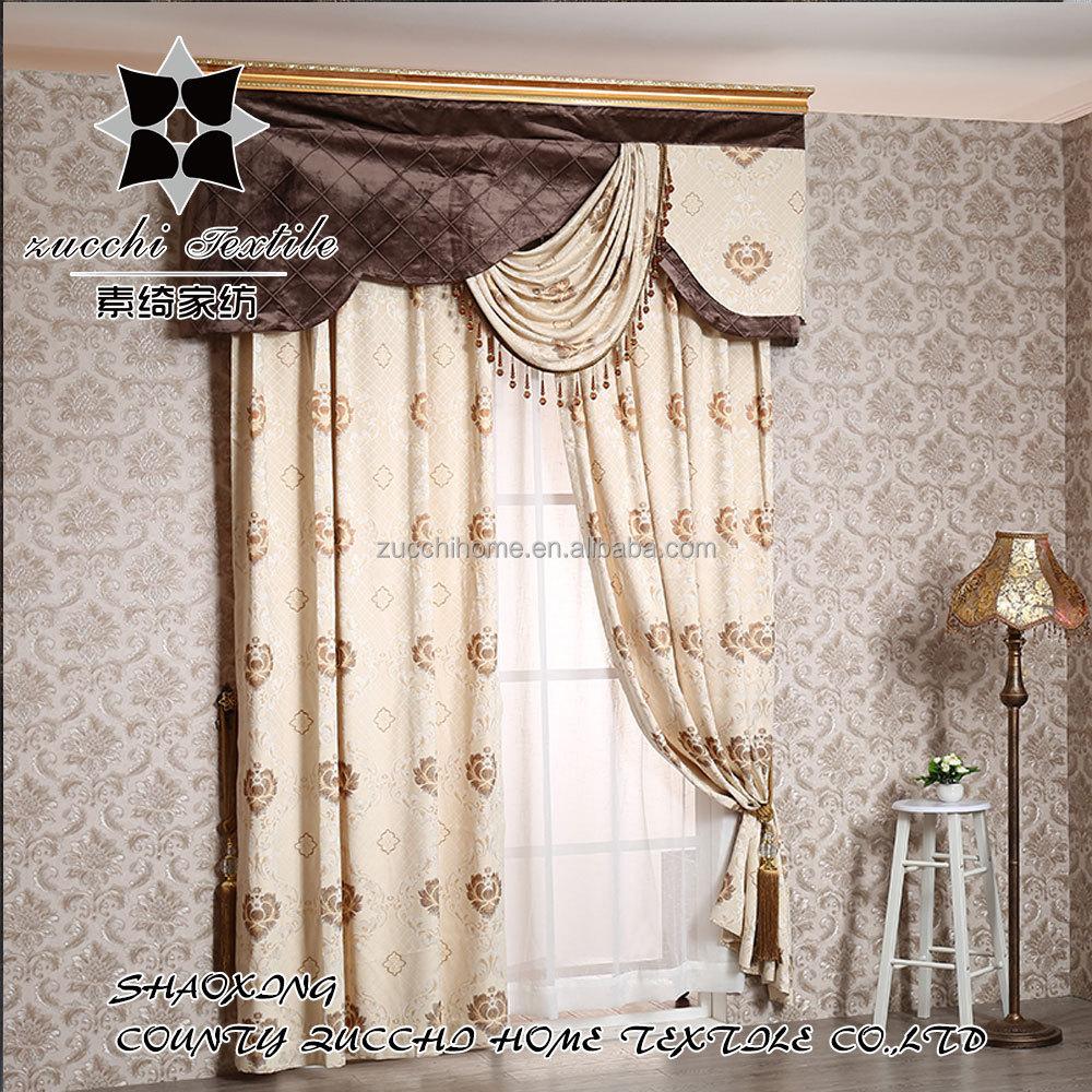 europ 233 enne de luxe jacquard salon fen 234 tre draperie rideau rideaux id de produit 60468741249