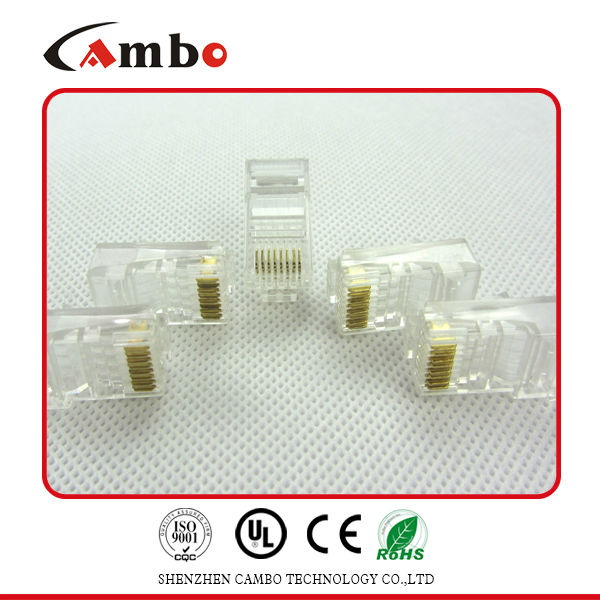 Best price CAT5E/CAT6 Stranded Solid network cable 8P8C unshielded/shielded Gold Plated usb rj45 adapter