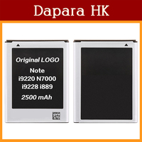 100% Original Replacement Battery For Samsung GALAXY Note1 i9220 N7000 i9228 i889 2500mAh Free Shipping