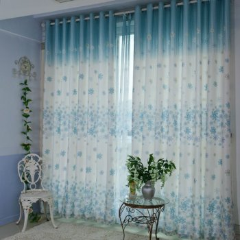 light blue window curtains buy country curtains product. Black Bedroom Furniture Sets. Home Design Ideas