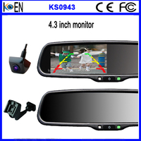 2015 Hot OEM Car Rearview Mirror LCD 4.3 Inch Digital Mirror Monitor