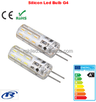 80Ra CE 1.5W 2.5W Silicon G4 bulbs Warm White SMD3014 12v g4 led bulb