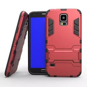 hot selling shockproof durable phone case with back stand for samsung galaxy S5