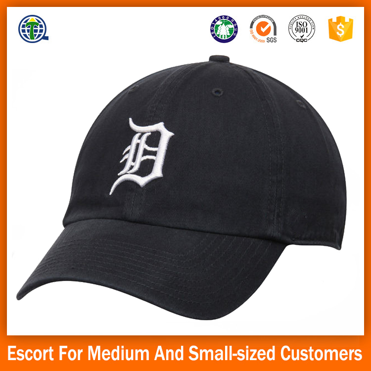 2017 Customed dad hat baseball caps single head embroidery caps in sports hot sale