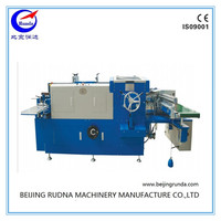 creasing and die cutting machine for binding