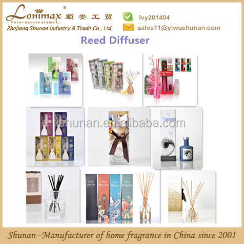 reed diffuser fragrance oil/ 100ml reed diffuser with fiber sticks and plaster