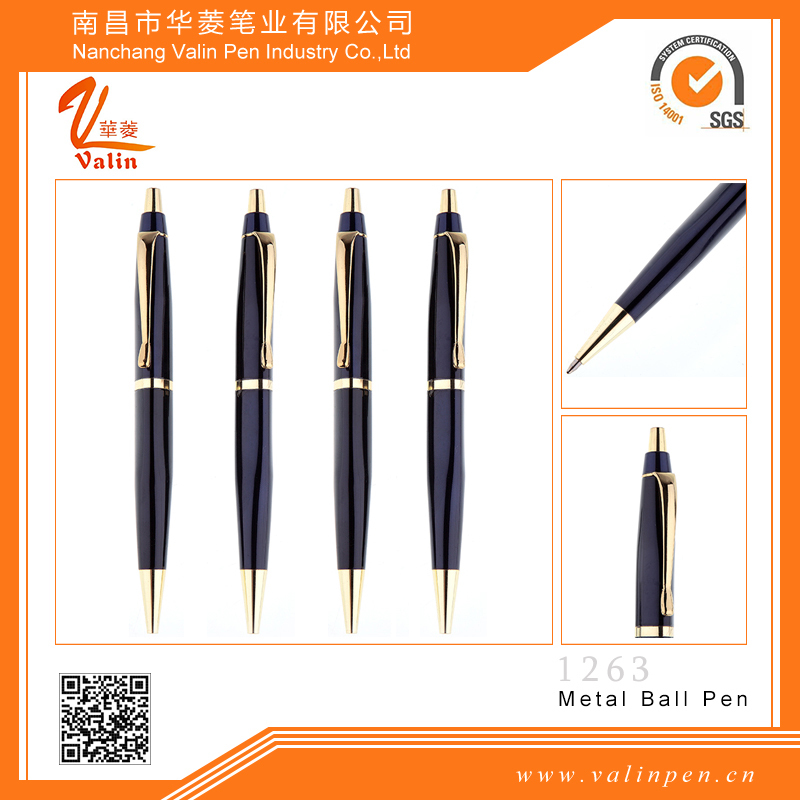 Best selling promotion goods pen 0.5mm ballpoint pen metal mechanical pen