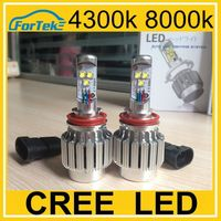 Built-in drive power 60w 6400lm led car light h11 cree beam