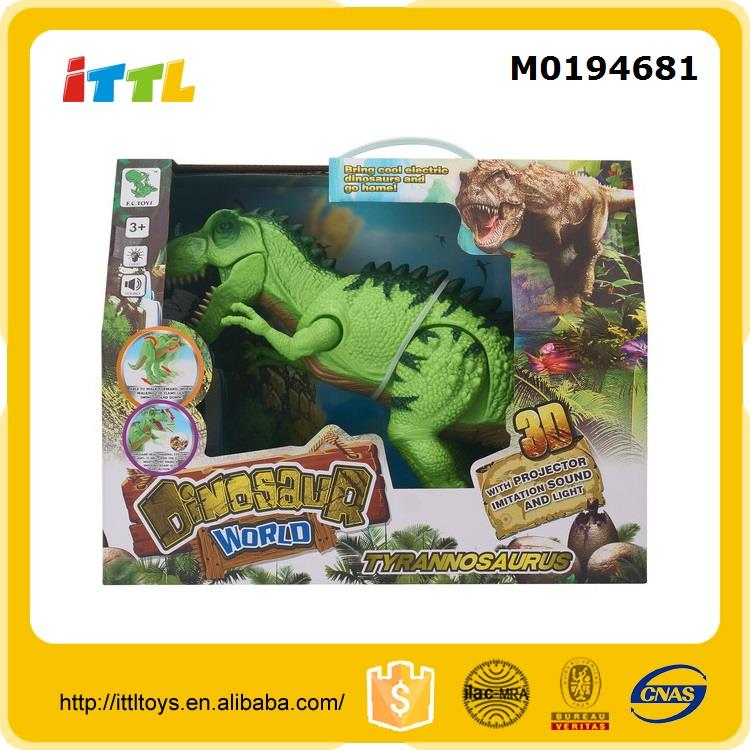 2016 new item walking dinosaur toy battery toy dinosaur world toys