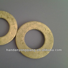 carbon steel yellow zinc plated flat washers