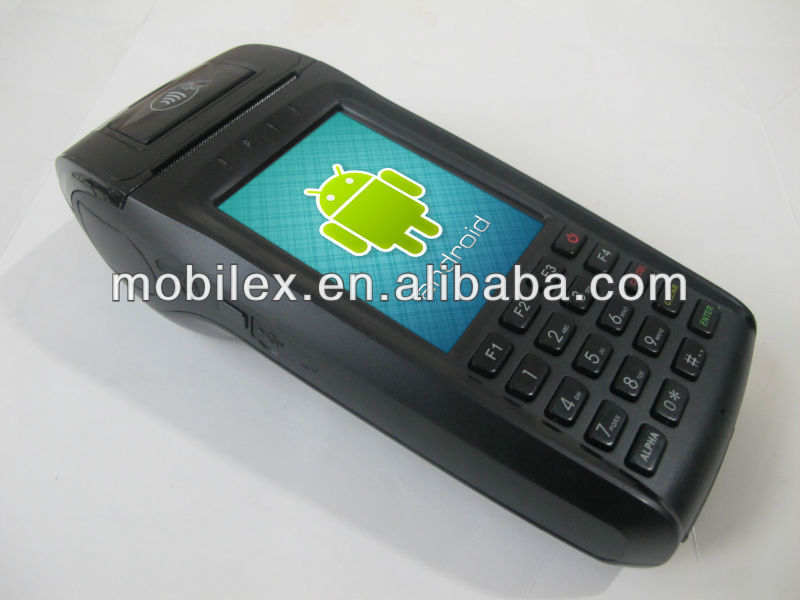 EFT-POS Mobile 3G Barcode Scanner with internal Thermal Printer (MXVPOS)