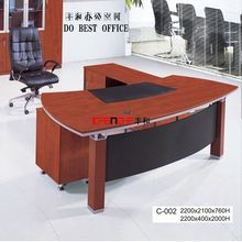 office executive glass table modern
