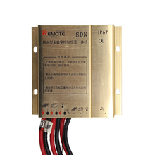 Wind solar hybrid charge controller for street light