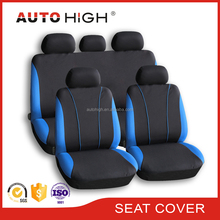 Auto high Hot sale Universal polyester piping design Tonic seat cover