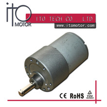 high speed 37mm dc geared motor,dc gear motor with eccentric shaft GB37-3530best selling dc motor,12v dc gear motor with reducer