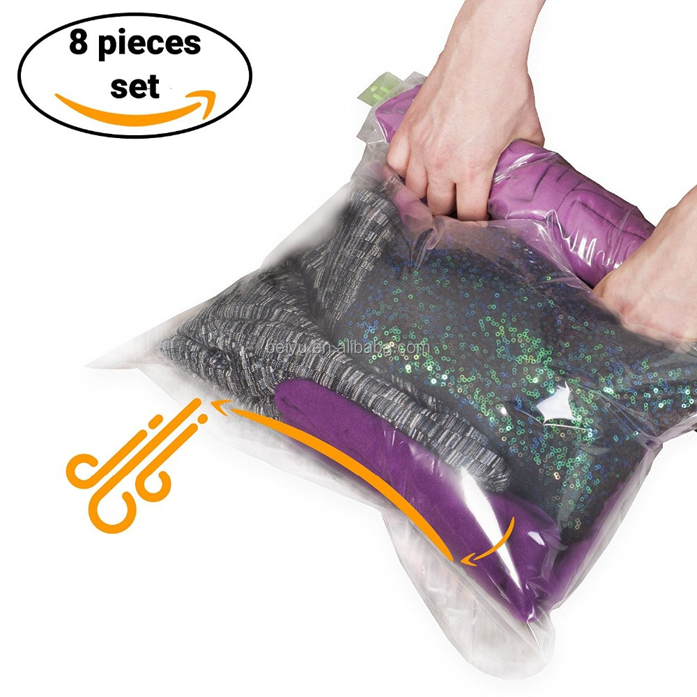 PA+PE Material and Storage Bags Type small size Vacuum Roll-Up Storage Bag