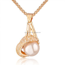 Wholesale latest model fashion meaningful white stone necklace set