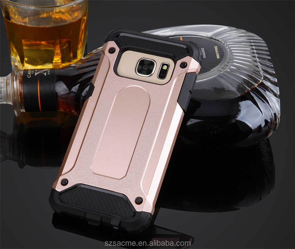 2 In 1 Protective Shockproof Hybrid Armor Cell phone Case For Samsung Galaxy S8