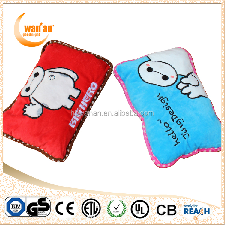 Rechargeable 2015 New Design Cartoon Electric Hot Water Bag