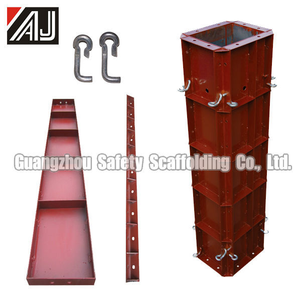 Guangzhou Factory Africa Hot Sale Type Concrete Columns Mold