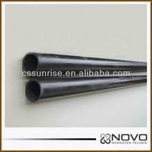 Elegant Twill and Plain Weave Pure 3K Wing Carbon Fiber Tubes