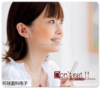 High quality low price stereo earphone Adorable 3.5mm earphone for all mobile phones