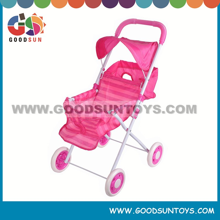 Good Selling toy doll prams baby toy stroller doll pram