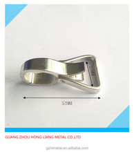 15mm high quality nickel Small metal purse spring hook bag strap buckle