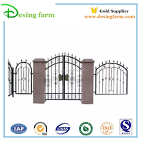 hot sale iron gate grill designs