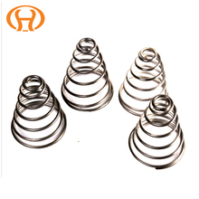 Factory Supply Stainless Steel Industrial Double Single Helical Conical Spring