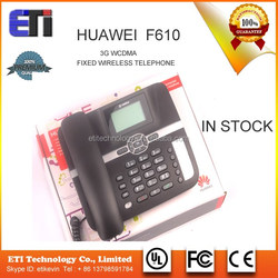 Huawei F610 3G WCDMA Fixed Wireless telephone terminal GSM dual mode desk phone with cables