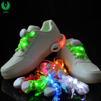 Led Shoelaces With Battery Led Glowing
