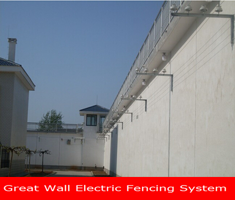 Electric shock security electric fence for prison electric fence electric security fence energizer