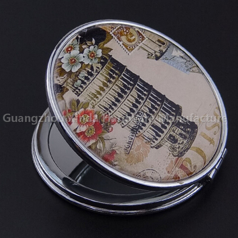 Promotional metal cosmetic mirrors /pocket mirror/compact mirror